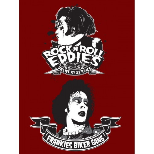 Rocky Horror Themed T-Shirt designs