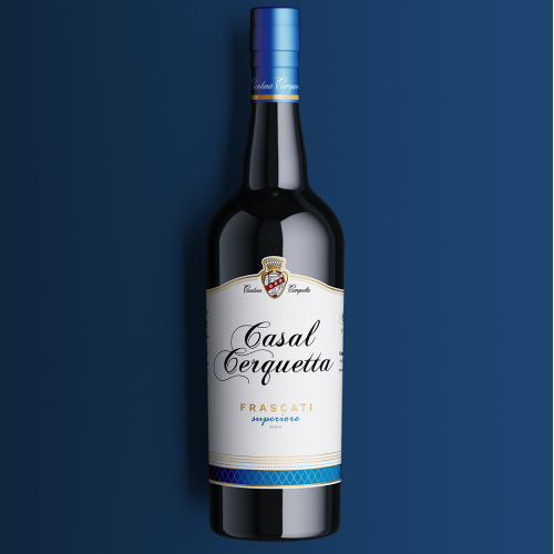 A luxury Wine label a high lavel