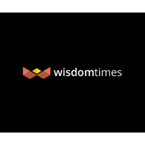 wisdom times lamp logo