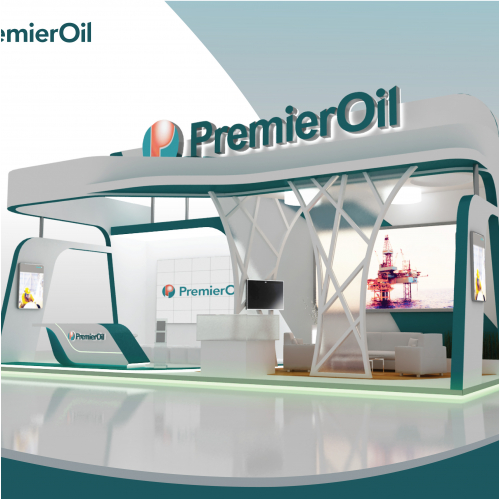 booth design for premier oil