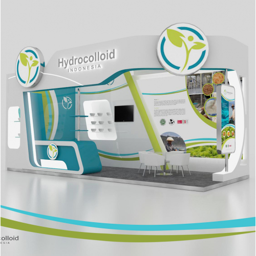 booth design hidrocoloid