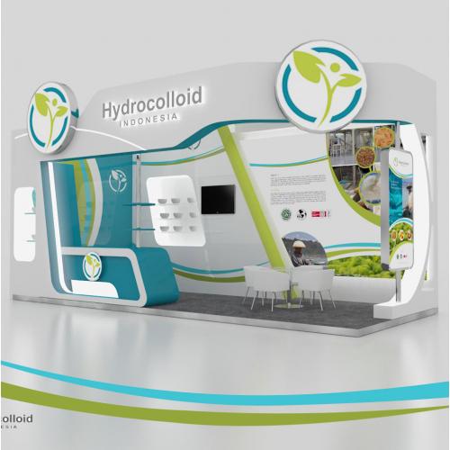 booth design hidrocoloid
