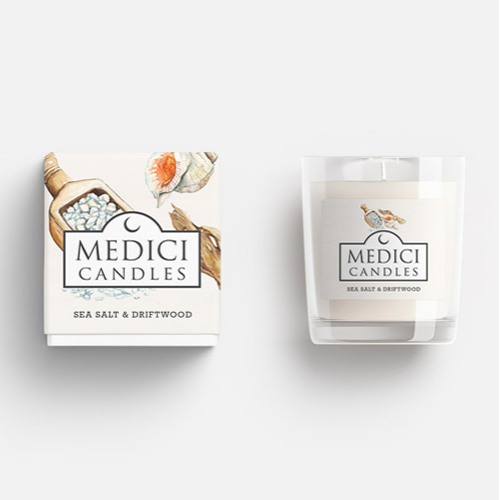 Candle Scents Watercolour Illustrations