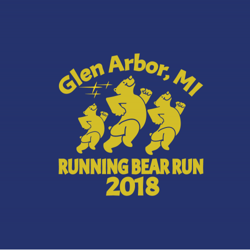 Logo Running Bear
