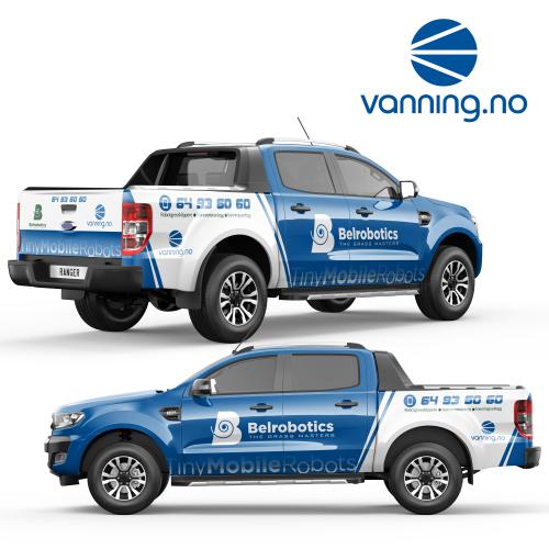 Vanning.no Full Wrap Design