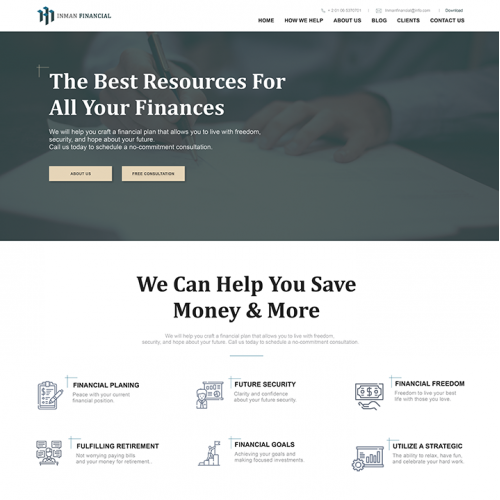 INMAN FINANCIAL WEBSITE