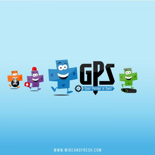 Logos GPS (Guide Pratique de Santé)