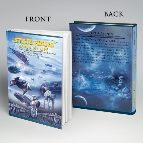 Book cover design done for STAR WARS