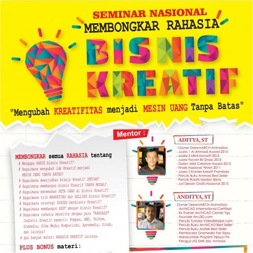 design brosur bisnis kreatif