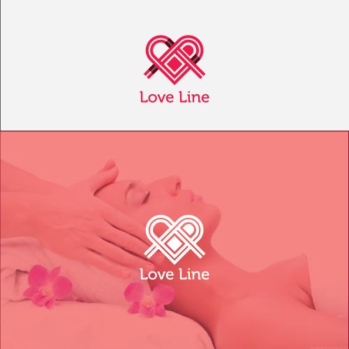 love line logo design