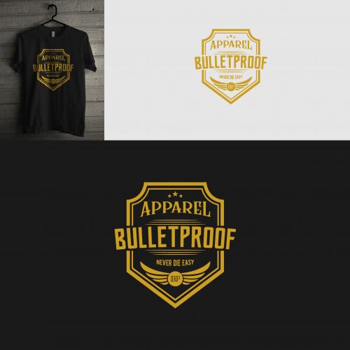 bulletproof logo design