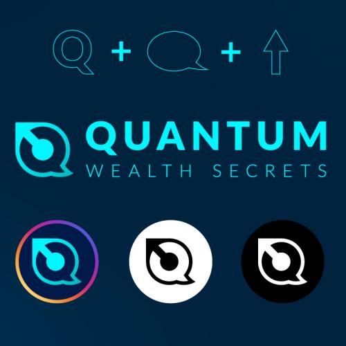 Quantum Logo Design and Social Media Icon