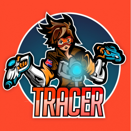 Tracer Illustrated Badge