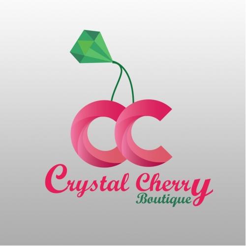 Crystal Cherry Logo Design