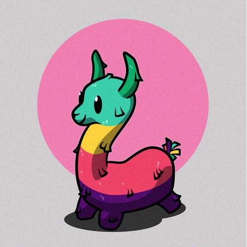 Piñata Llama (unused)