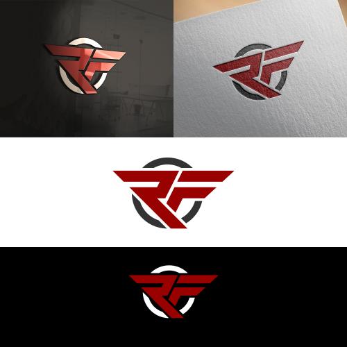 Fitness typography logo