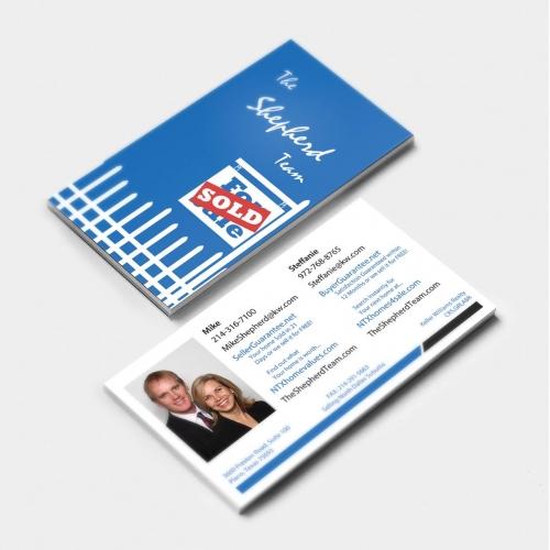 The Shepherd Team - Business Card Design