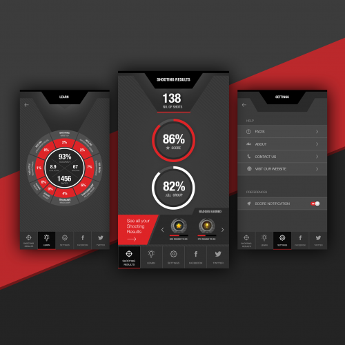 Digital Shooting App Design