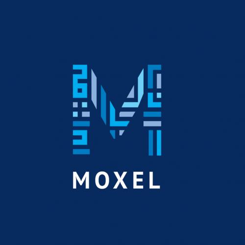 Moxel Logo Design