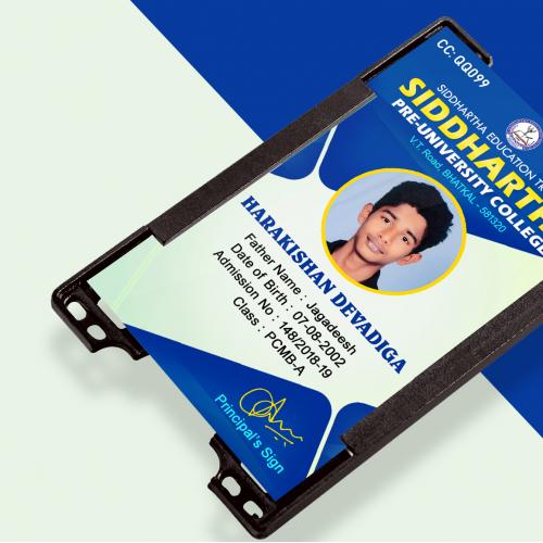 Pre-University College ID Card Design