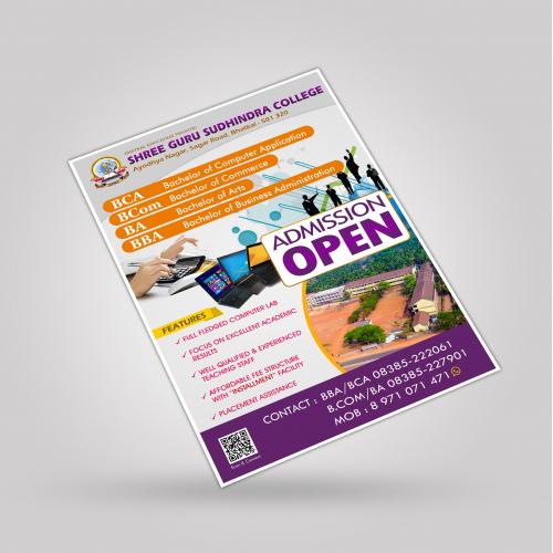 Bhatkal Education Trust Leaflet Design