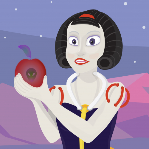 Extraterrestrial Snow White