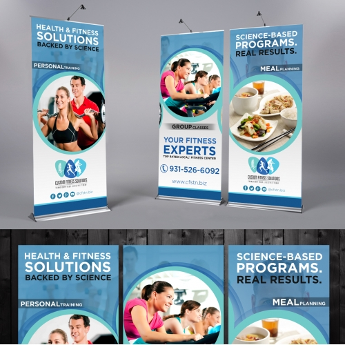 3 Pull-up Banner