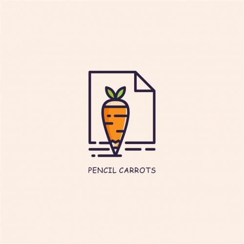 pencil carrots