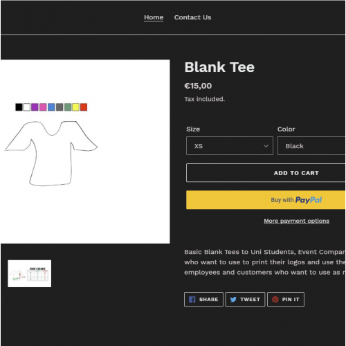 Single product page Shopify