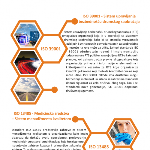 one page of brochure