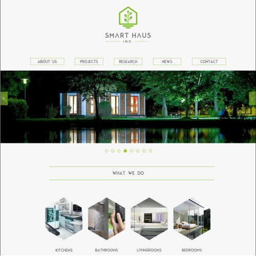 Logo and website home page