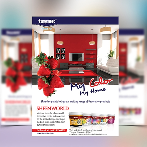 Flyer Design - Sheenlac