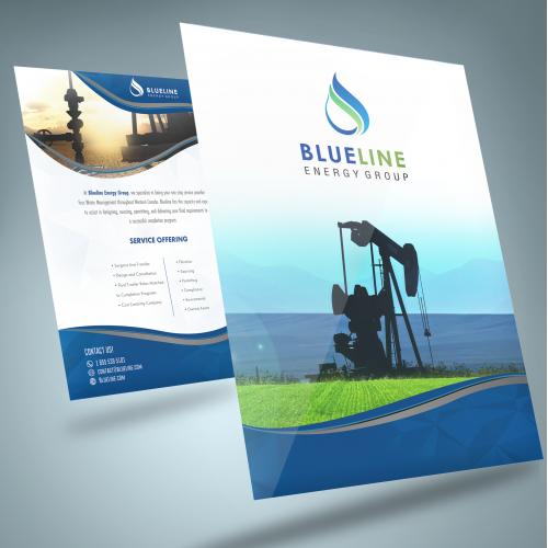 Brochure for energy company