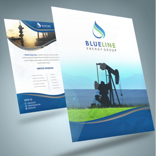 Brochure for energy company