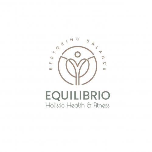 EQUILIBRIO minimalist logo design