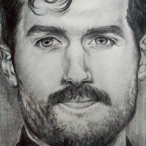 Henry  Cavill's Sketch Portrait