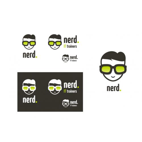 Nerd logo design