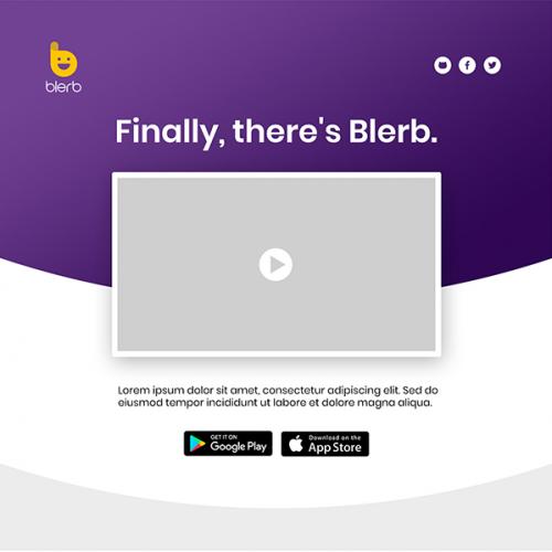 App web page
