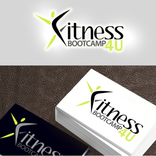 Selected Logo For  www.fitnessbootcamp4u.com