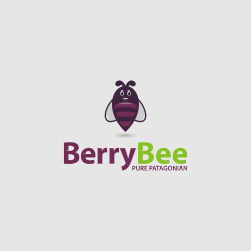 Abstract bee logo