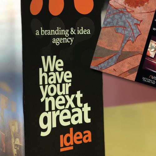 Complex Gate-Fold Brochure for design firm