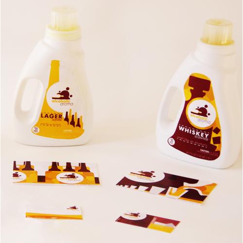 Alcoholic Aroma, Laundry Detergent Branding