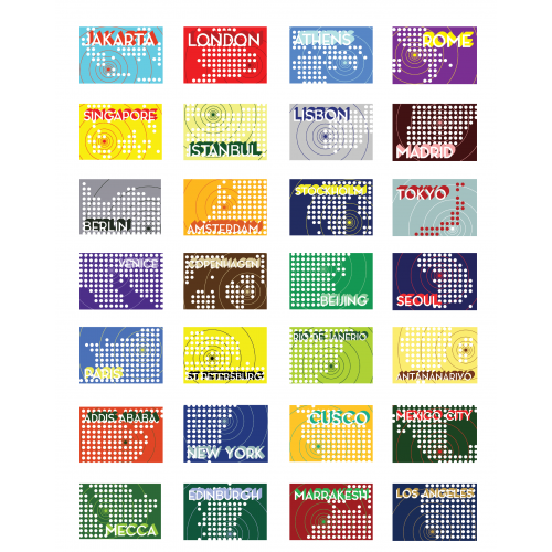 Geographic Postcards