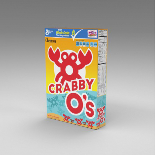 Crabby-O's Cereal Brand