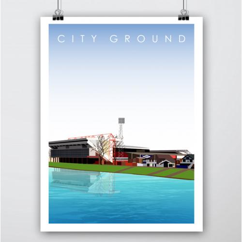 Football Stadium Illustrations