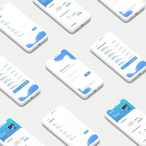 UI Mobile Amanah Laundry