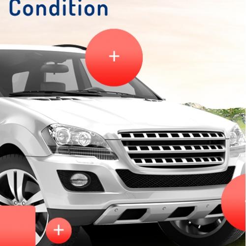 Car Rental UI Design
