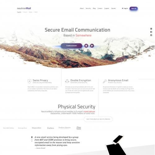 Neutron Page Landing Page Template