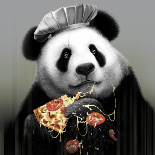 PANDA LOVES PIZZA