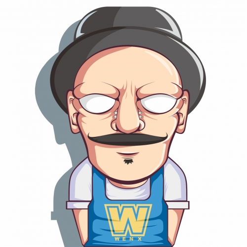 Mr. W Character Design